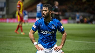 Daniel Candeias rues a wasted opportunity for Rangers