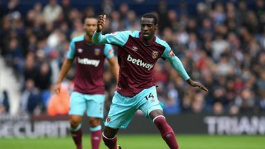 fifa live scores - Pedro Obiang set to miss rest of West Ham's season after undergoing knee injury