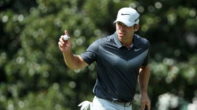 Paul Casey will go into the final round of the Tour Championship two shots clear