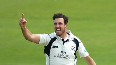 Steven Finn took 8-79 as Middlesex defeated Lancashire by 36 runs at Lord