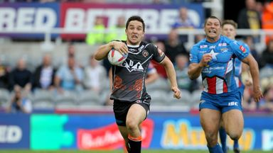 Castleford featured at Magic Weekend in Newcastle in 2017