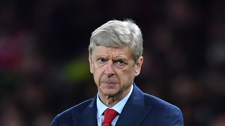Arsenal's French manager Arsene Wenger gestures on the touchline during the English League Cup third round football match between Arsenal and Doncaster Rov