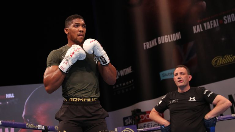 Anthony Joshua vs Joseph Parker is 'achievable' Anthony-joshua-joshua-boxing_4138350