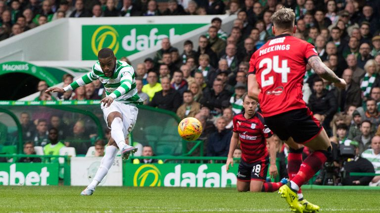 Olivier Ntcham has played 39 times in all competitions since joining Celtic in the summer.