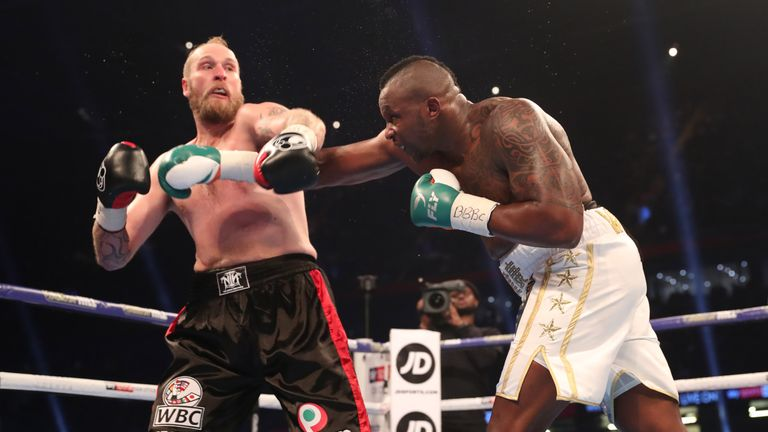 Whyte was happy with the