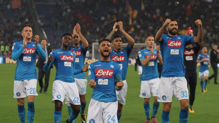 Napoli boss says Man City can win the Champions League