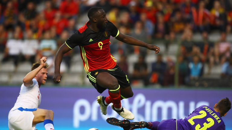 Romelu Lukaku has been ruled out of Belgium's World Cup qualifier on Saturday