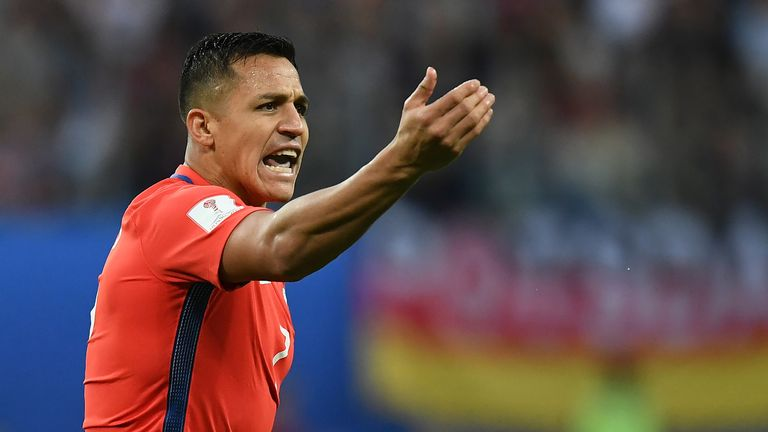 Alexis Sanchez will not play at next year's World Cup after Chile failed to qualify