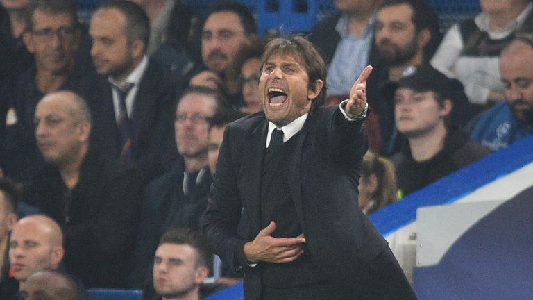 Antonio Conte's Chelsea have lost two on the trot in the Premier League