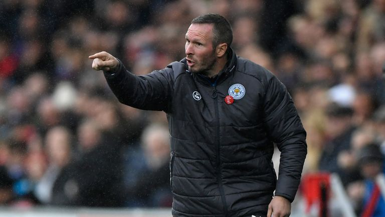 Leicester assistant manager Michael Appleton