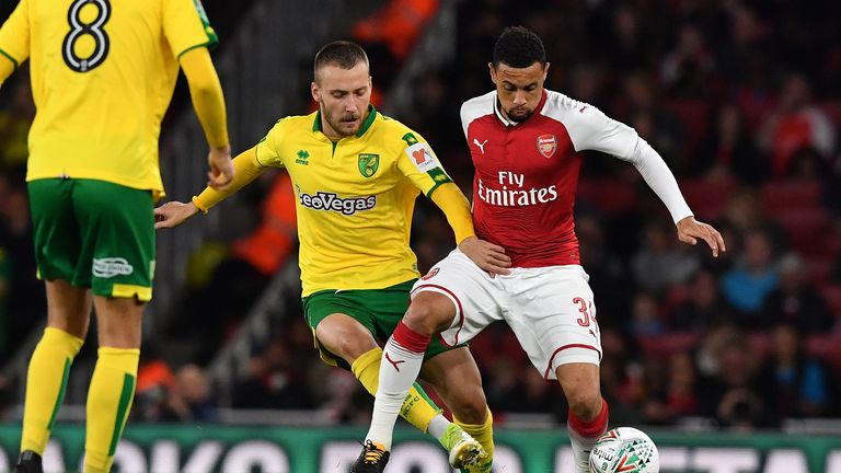 Norwich City put in a battling display and had chances to put the game beyond Arsenal