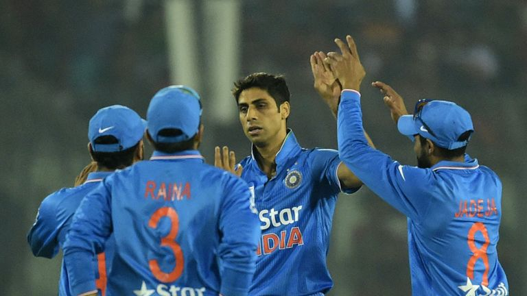 Nehra (C) has taken 157 ODI wickets for India