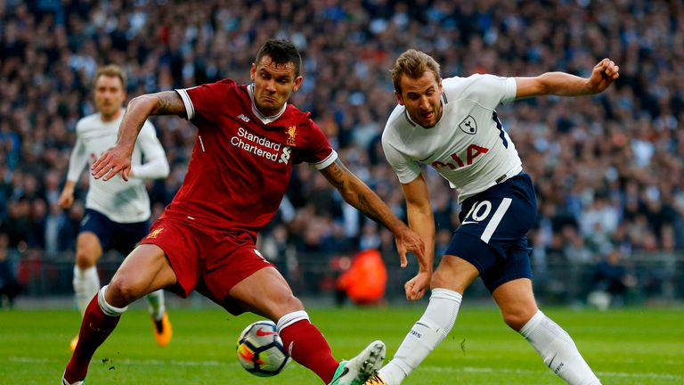 Lovren also sustained a thigh injury during the pre-match warm-up against the Terriers