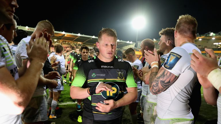 Hartley has not been on the winning side with Northampton since September