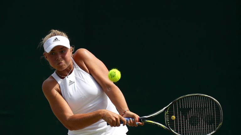 Emily has big ambitions to conquer the Wimbledon turf