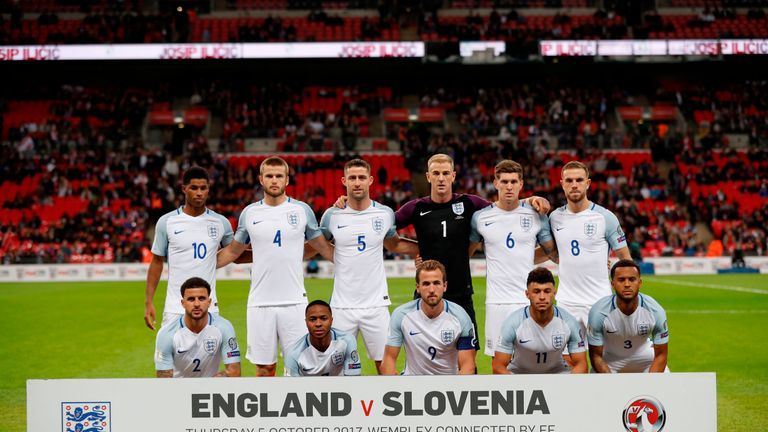 England played in front of less than 62,000 fans at Wembley on Thursday