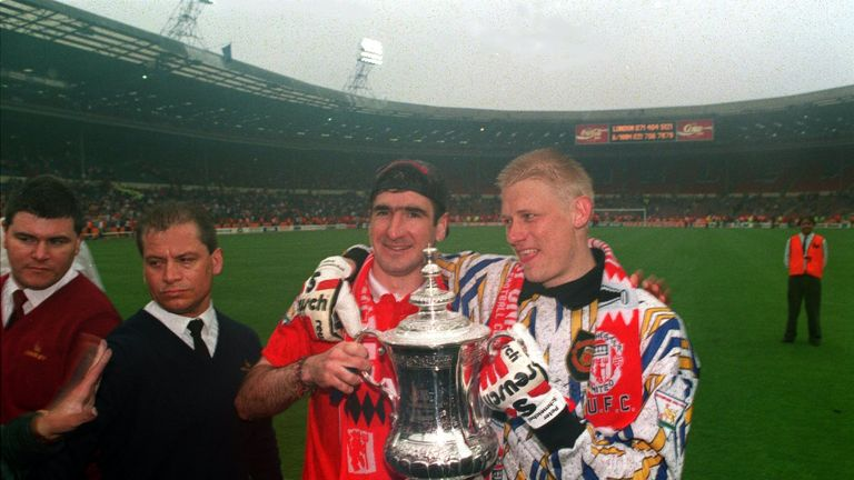 Eric Cantona and Peter Schmeichel had once been transfer targets for Liverpool, Graeme Souness has revealed
