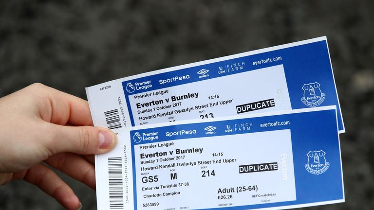 Premier League ticket prices appear to be reducing year on year
