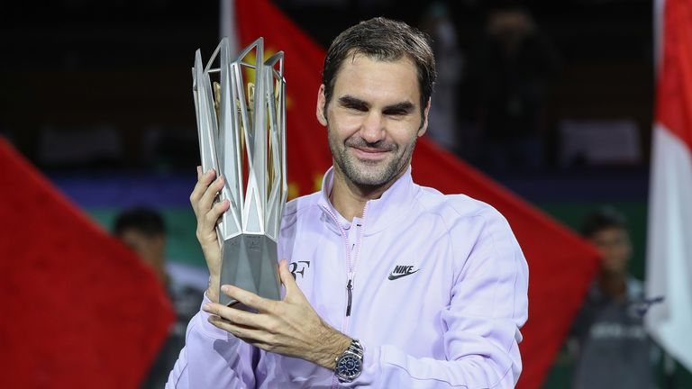 Roger Federer Wins 2017 Shanghai Masters