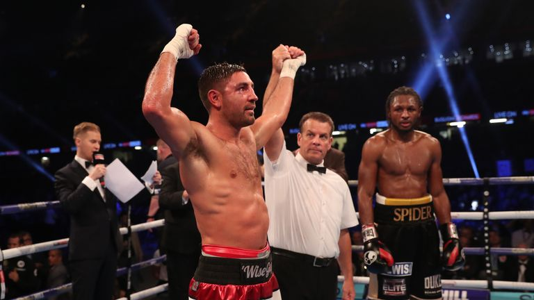 Frank Buglioni also defends his British belt on the undercard