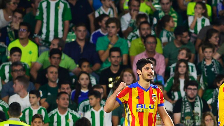Goncalo Guedes has been in fine form for Valencia this season