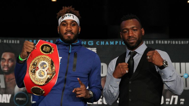Jarrett Hurd makes the first defence of his IBF title against Austin Trout