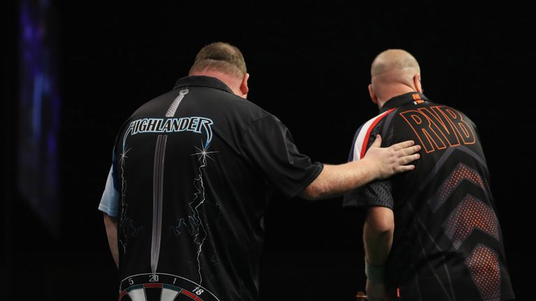 Henderson beat Barney to continue his unexpected run to the last four at the Citywest Hotel