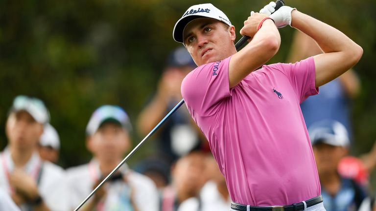 Justin Thomas sits six strokes back after the opening round