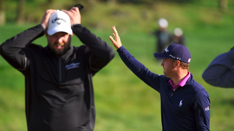 Leishman bogeyed the second extra play-off hole