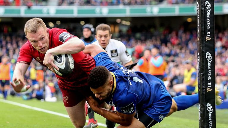 Keith Earls is enjoying excellent form despite last week's defeat to Leinster