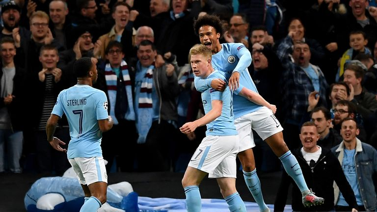 City started the game at their free-flowing best before Napoli came back into the game in the second period