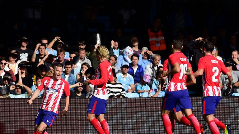 Result: Kevin Gameiro earns Atletico Madrid victory at Balaidos