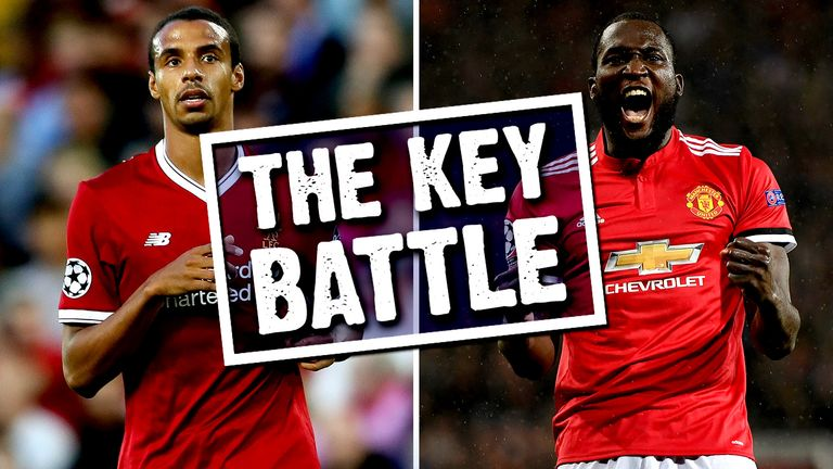 Joel Matip and Romelu Lukaku go head to head on Saturday