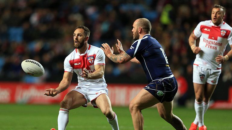 Luke Gale is hoping to banish some of his Grand Final demons with England