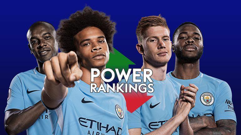 Manchester City dominate Sky Sports' Premier League Power ...