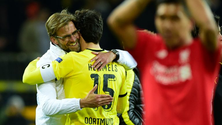 Hummels spent seven years under the tutelage of Klopp at Dortmund