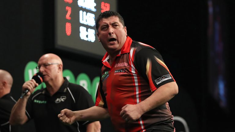 Mensur Suljovic is on course for a second major title in the space of four weeks