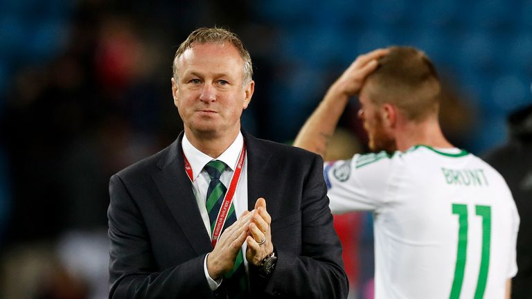 Northern Ireland manager Michael O'Neill has guided his team to the play-offs