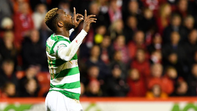 Dembele has been back on the goal trail for Celtic in recent weeks