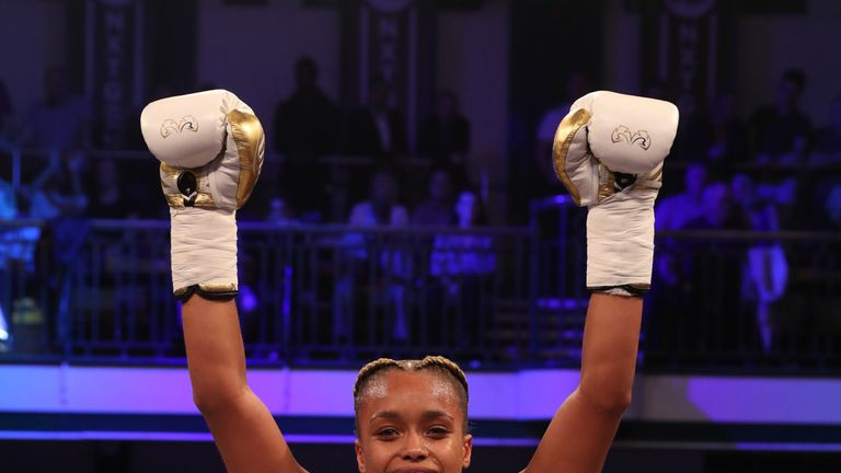 Natasha Jonas has stopped all of her opponents since turning professional