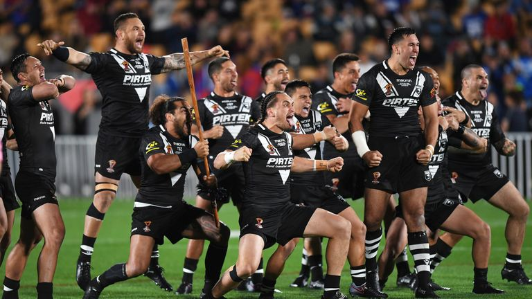 New Zealand opened their World Cup campaign with a comprehensive 38-8 victory over Samoa
