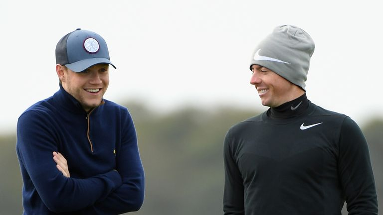 Niall Horan flew in from Rio De Janeiro to spend a couple of days at the Alfred Dunhill Links Championship
