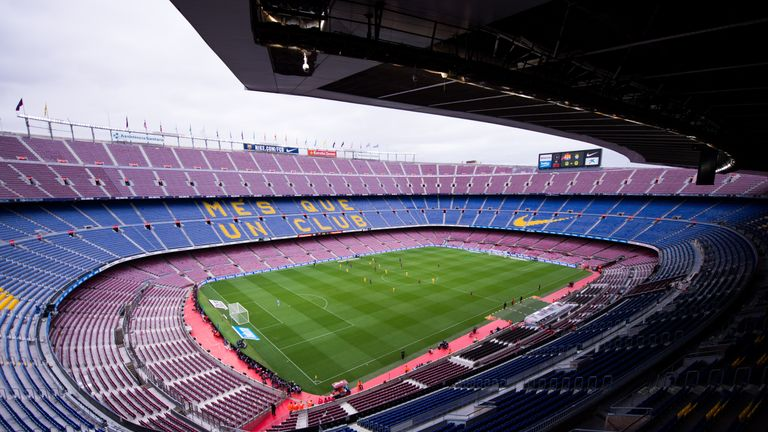 Barcelona's Nou Camp stadium could be renamed as part of renovation plans