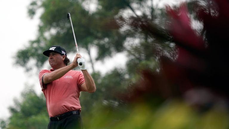 Perez holds the 36-hole lead in Malaysia