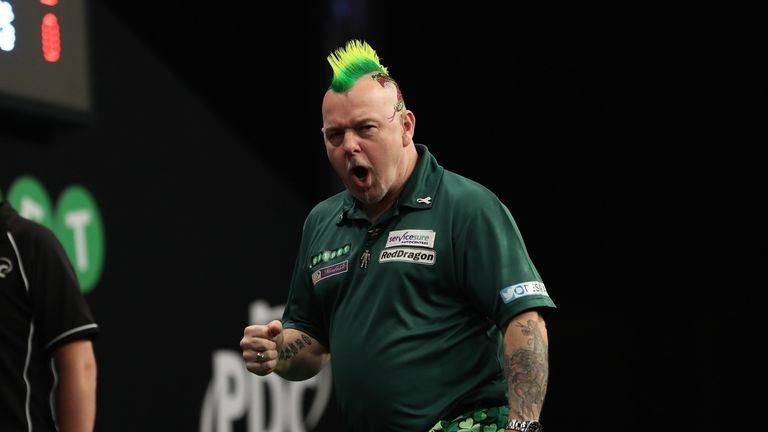 Peter Wright has won five European Tour events this year