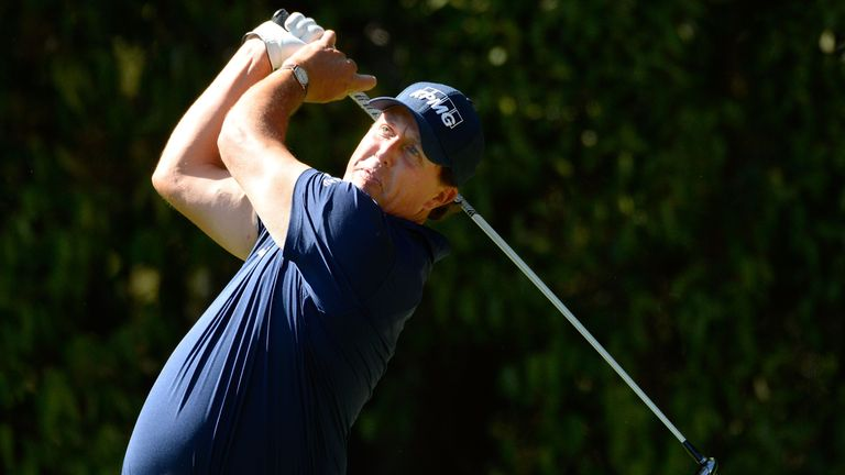 Mickelson is still without a worldwide win since the 2013 Open