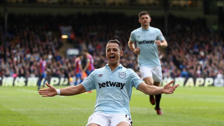 Javier Hernandez has scored each of his 41 Premier League goals inside the box