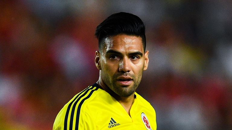 Colombia striker Radamel Falcao has admitted trying to tell Peru players that a draw would be enough for them to reach the play-offs during Tuesday's game
