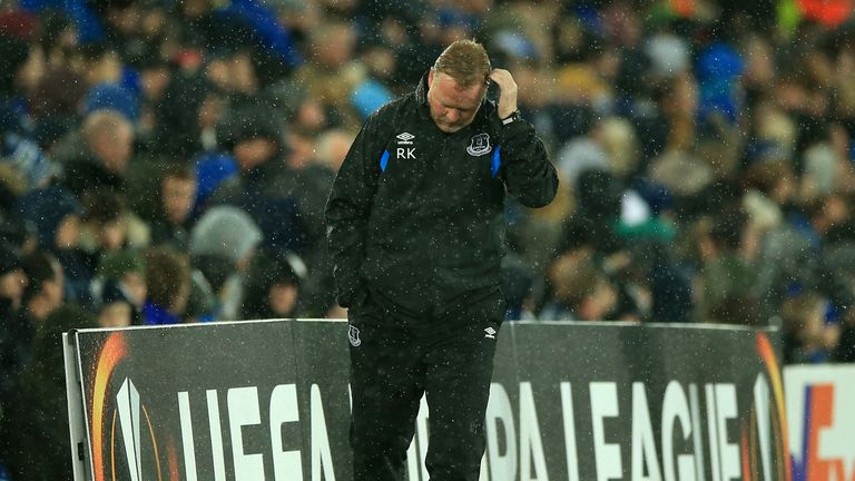Ronald Koeman's reign at Everton is over following a bad start to the season