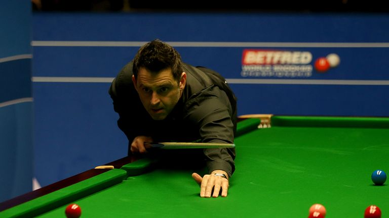 O'Sullivan racked up breaks of 75, 104, 76, 103, 86 and 59